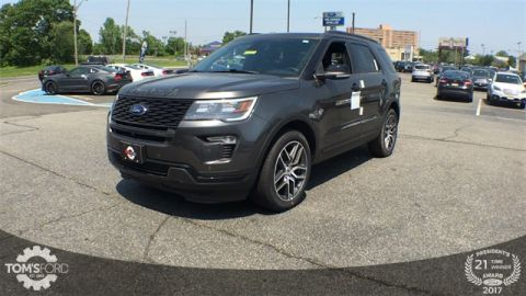 New 2018 Ford Explorer Sport